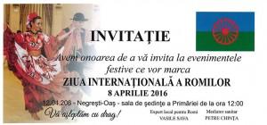 ziua internationala a romilor